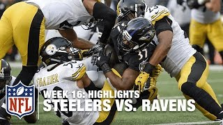Steelers vs. Ravens | Week 16 Highlights | NFL