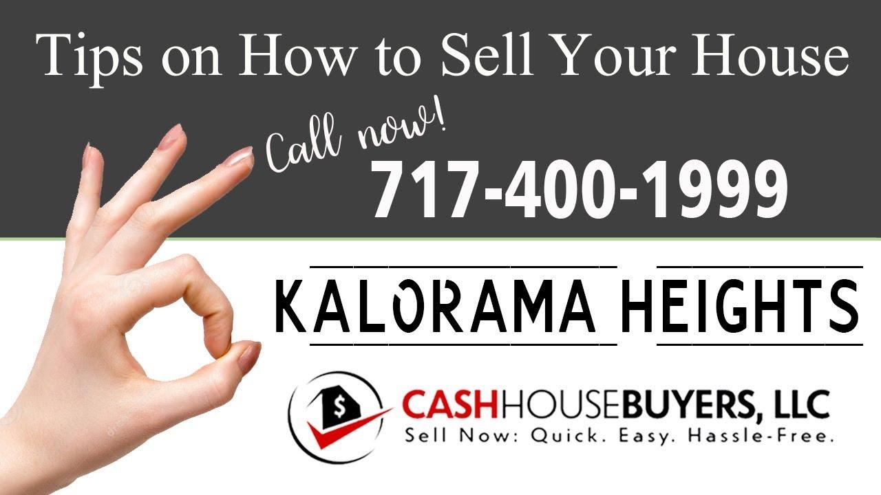 Tips Sell House Fast Kalorama Heights Washington DC | Call 7174001999 | We Buy Houses