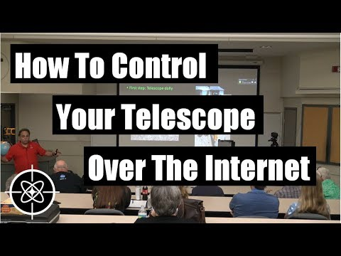 How To Control Your Telescope Over The Internet.  By Freddy Diaz