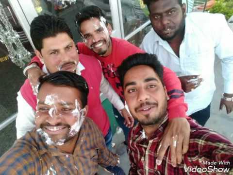 Govt college Ropar boyzzz...  In birthday party