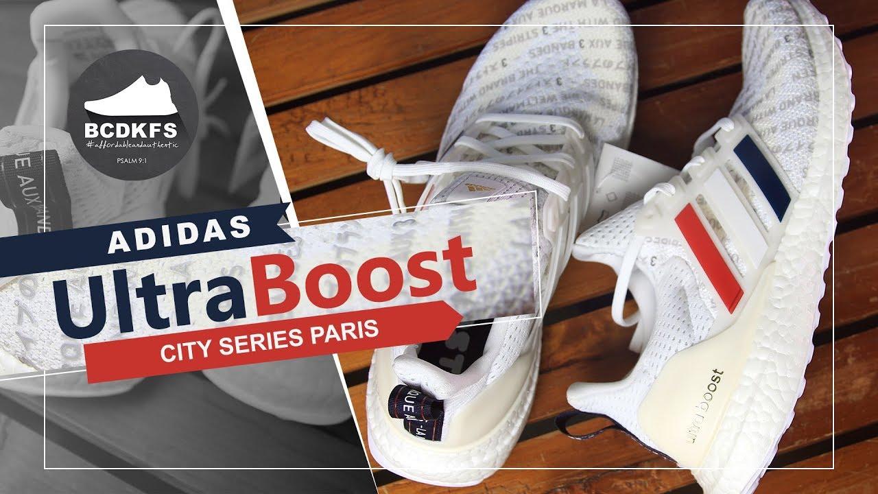 Adidas UltraBoost City Series Paris