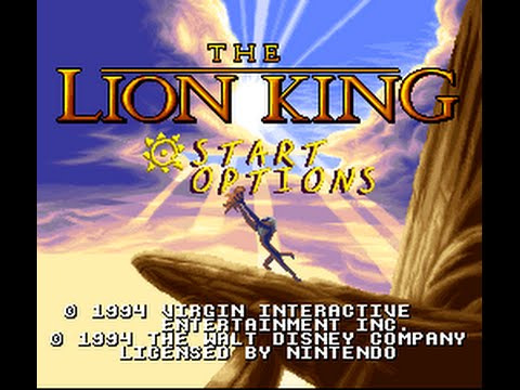 lion king (SNES) gameplay