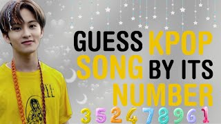 KPOP GAMES | GUËSS KPOP SONG BY NUMBER