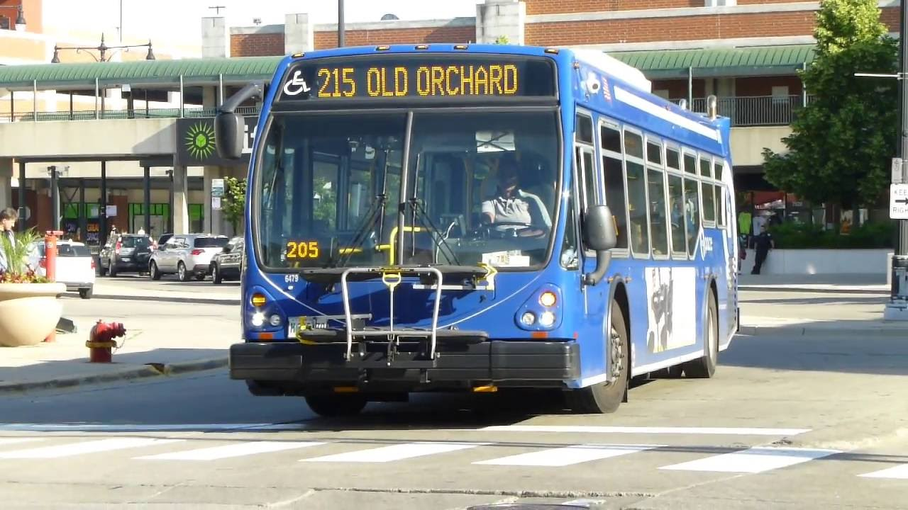 rta pace bus: 2014 eldorado national axess route 215 bus #6479 at