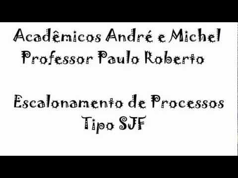Escalonamento de processos_SJF
