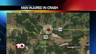 Police in Parke County investigate crash, one airlifted