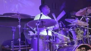 Aaron Spears - Caught Up (drum clinic @ Guangzhou, China, 9-Oc-15)
