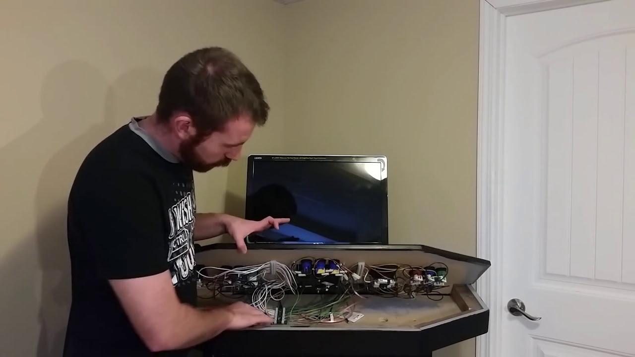 Raspberry Pi Game Cabinet The Raspberry Pi Arcade Machine Youtube