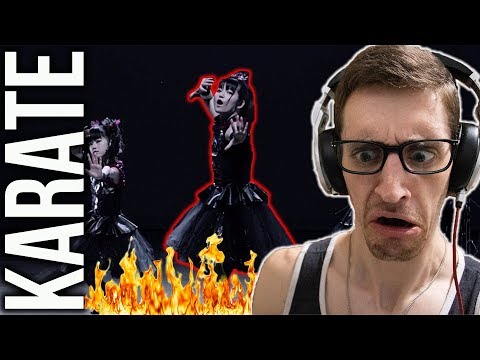 """Hip-Hop Head's FIRST TIME Hearing """"KARATE"""" by BABYMETAL"""