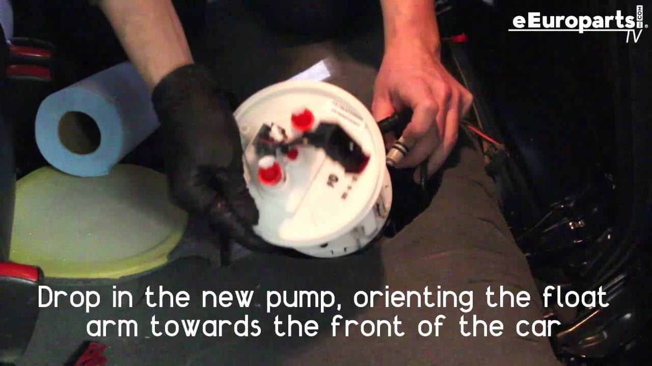 hight resolution of saab 9 5 fuel pump diy runthrough