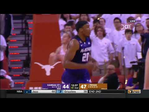 Kansas State vs Texas Men's Basketball Highlights