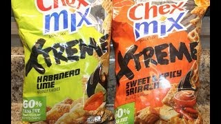 Chex Mix Xtreme: Habanero Lime And Sweet & Spicy Sriracha Review