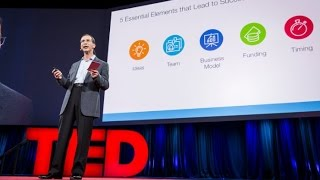 #1 Reason why startups succeed | Bill Gross (TED Talk Summary)