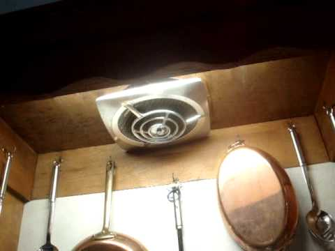 nutone and jenn aire kitchen exhaust fans - youtube