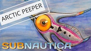 subnautica arctic peeper video, subnautica arctic peeper clips