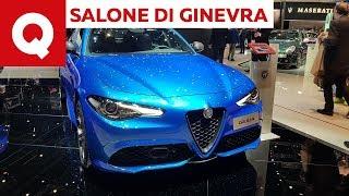 Alfa Romeo Giulia e Stevio  non c'è solo la Tonale! - Salone di Ginevra 2019 | Quattroruote
