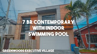 Contemporary House With 7 Bedrooms And Indoor Pool In Greenwoods Exec. Village, Pasig   Vlog # 52