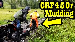Dirt Bike Mudding - CRF450r