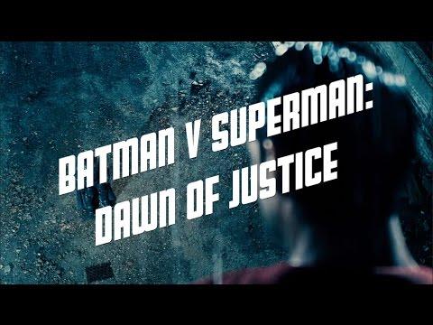 Batman v Superman: Dawn of Justice Noir Style (Fan)Trailer Superman Variant