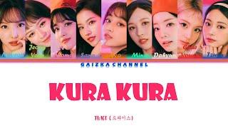 TWICE (트와이스) – Kura Kura Lyrics (Color Coded Han/Rom/Eng)