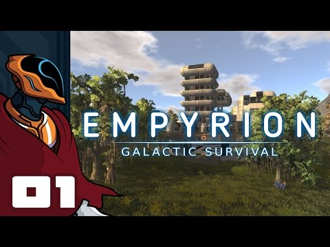 Let's Play Empyrion: Galactic Survival - Gameplay Part 1 - Like Space Engineers, But Better?