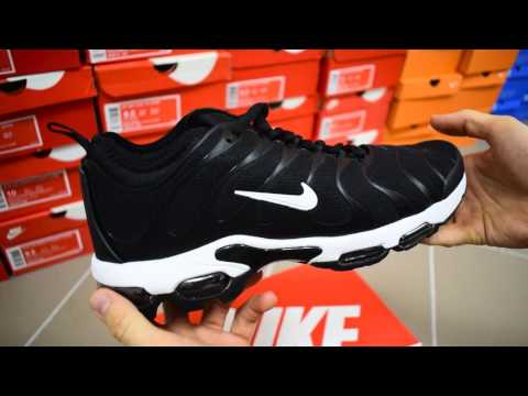 Nike Air Max TN Plus black обзор кроссовки мужские найк аир макс тн плюс черные