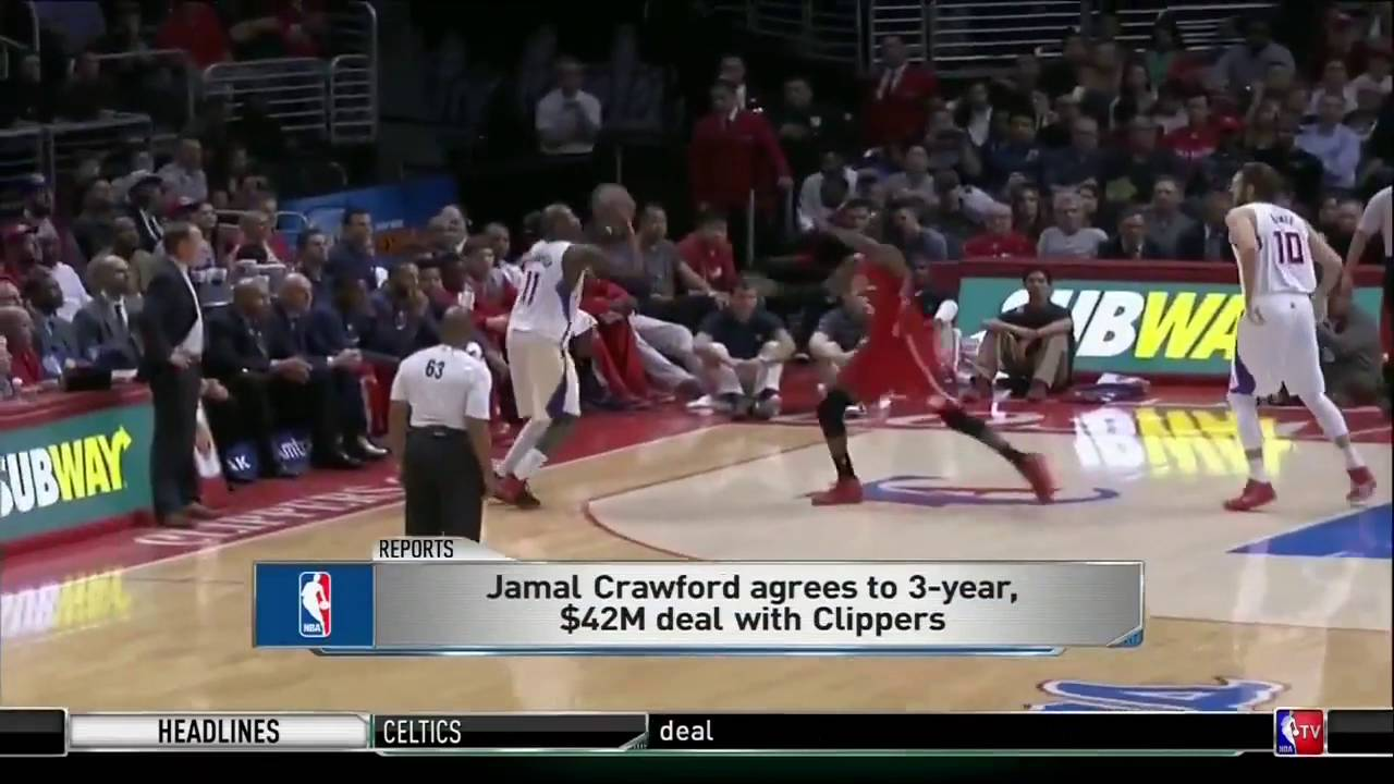 Jamal Crawford agrees to contract with Brooklyn Nets, per report