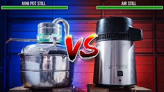 Air Still Vs Mİni Pot Still : Which Is Best For You ?