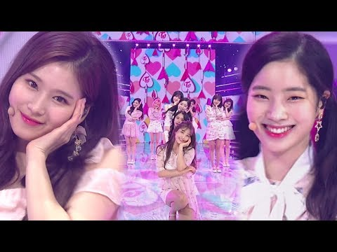 《ADORABLE》 TWICE(트와이스) - What is Love? @인기가요 Inkigayo 20180422