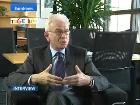 EuroNews   EN   Interview   Hans Gert Poettering