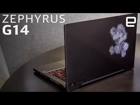 ASUS ROG Zephyrus G14 Hands-on: Ryzen Power In A Light-up Laptop