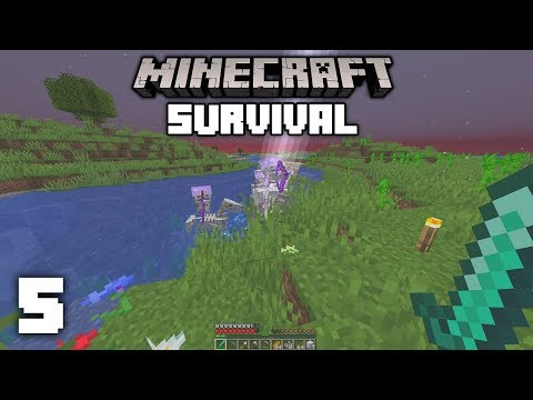 Minecraft 1.14 Survival Let's Play - RAREST OCCURRENCE IN MINECRAFT   Ep 5