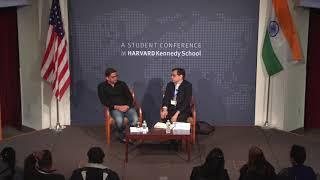 Prashant Kishor at India Conference 2019, Harvard University