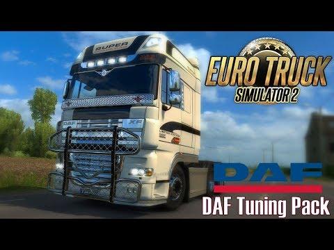 ETS 2 ★ NEWS I DAF Tuning Pack DLC [Deutsch/HD]