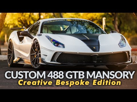 Custom Ferrari 488 GTB Mansory Creative Bespoke Edition -  FOR SALE