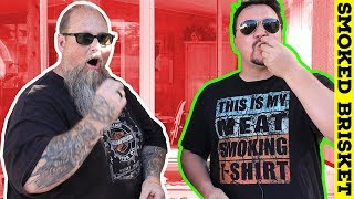 Smoked Brisket Taste Test and How to Smoke Brisket in a Pit Boss Vertical Smoker