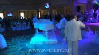 Свадьба в банкетном зале Парадайз