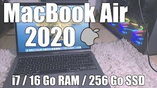 MacBook Air 2020 (i7 16 Go RAM) - Unboxing (en français)
