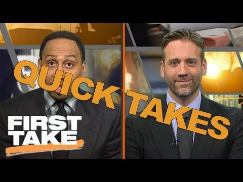 Quick Takes On Kyle Lowry, The Cowboys, Dabo Swinney And Michael Floyd | First Take | May 11, 2017