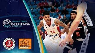 Hapoel Bank Yahav Jerusalem v CEZ Nymburk - Full Game - Basketball Champions League 2018-19