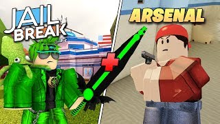 Roblox Live! 🔴| Jailbreak & Arsenal! 😎🔥| Come Join us! 😃💖