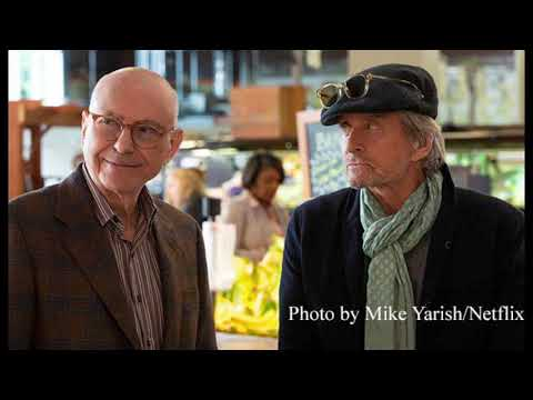 'The Kominsky Method' Emmy FYSEE event: Michael Douglas, Alan Arkin and Chuck Lorre reflect the 'aches and pains' of aging [LISTEN]