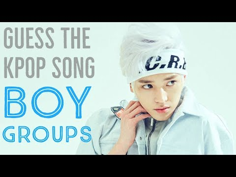 GUESS THE KPOP SONG IN 10 SECONDS [THIRD GEN BOY GROUP EDITION]