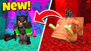 Minecraft 1.16 NEW UPDATE - Netherite STRONGER than DIAMOND! (Nether Biomes)