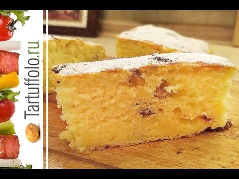 Творожный пирог (кекс).