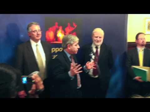 Speaker Bercow at RSC Bill Bryson prize presentation