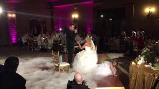 GROOM SURPRISES HIS BRIDE DURING FIRST DANCE | AMAZING!!