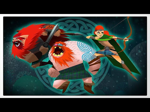 Clan O'Conall And The Crown of the Stag - Gameplay 1080p 60fps