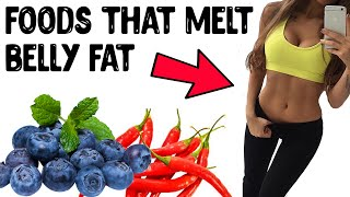 5 Ultimate Foods That Burn Belly Fat Fast | Eat These Powerful Foods That Burn Fat!