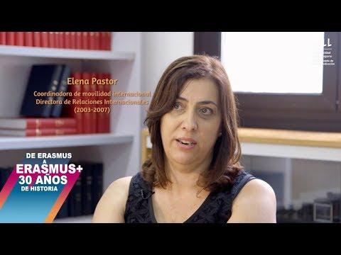 Erasmus 30 años - Elena Pastor